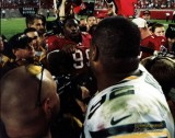 Warren Sapp & Reggie White - Pro Football HOFers