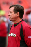 San Francisco 49ers offensive coordinator Norv Turner
