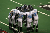 Philadelphia Soul offensive huddle