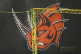 Grand Rapids Rampage rhino sign