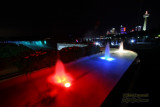 Niagara Falls at Night from Canada