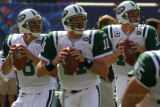New York Jets quarterbacks Tuiasosopo, Clemens & Pennington