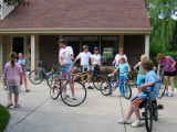 Neighborhood Table Bike Outing