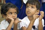 At a small school, Nakkawattha
