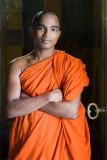 Monk in Hikkaduwa