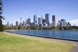 Sydney skyline from Royal Botanic Gardens