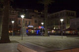 Platia Pythagoras at Night, Samos Town