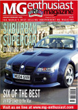 MG Enthusiast Cover
