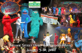 Sesame Street at the Clay County Regional Event Center