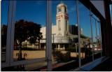 Fox Theater in Reflection, Bakersfield