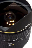 Sigma Fisheye Lens EX 15mm f/2.8 (sold)