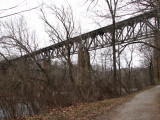 Railroad bridge at Sheperdstown