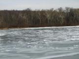 Ice field above Falls