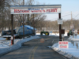 Whites Ferry is closed