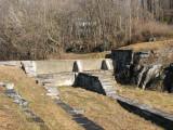 Remains of Inlet lock at Dam 5