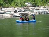 Approaching rapids