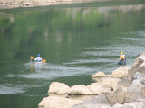 Proceeding upstream