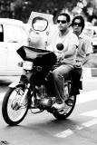 Two men on a motorcycle - Tehran