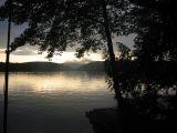 Sunset Lake Shadows