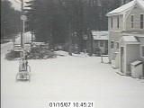 East Alton General Store in the Snow