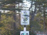 Spray Painting on this Sign Not Permitted