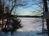 Sunset Lake from Beach 5
