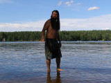 Jesus Walks on Water? Lower Suncook - contributed by Paul Cimon