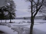 From Glen Echo Beach - by Doug Isleib - March 25, 2007 - Crystal Lake