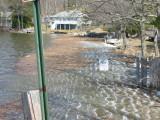 Floatsam Washed Up Next to Suncook Bridge