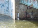 High Water Marker - Suncook Bridge