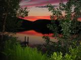 June Sunset - Hills Pond