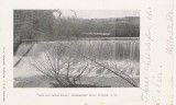 The Old Mill Dam - Gilmanton - Postmark 1906