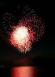 Suncook Lake 2007 July 4th Fireworks - photo by Angela Scarpa