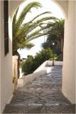 pathway to nerja beach