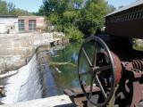 Dam in Bennington VT - Papermill Covered Bridge