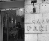 Breakfast at Cafe Paris