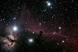 Horsehead and Flame Nebula's