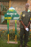 Francis, a ranger with the ORTPN, gives us our pre-trek briefing.