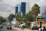 Addis Ababa is a bustling, vibrant city.