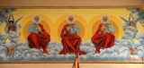 Painting representing the Holy Trinity