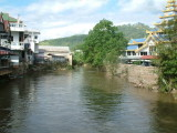 Nam Ruak River in Mae Sai -- Border Between Thailand and Burma
