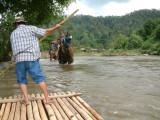 Rafting Near Chiang Mai