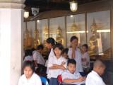 Schoolchildren Unimpressed by Photography
