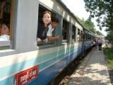 Train That Runs on the Kwai River Bridge and Beyond