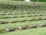 War Cemetery in Kanchanaburi
