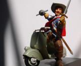 D' Artagnan in Vespa