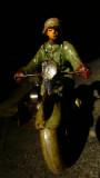 Motocicilista tedesco. Anni '40