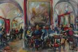 Incontro al Caffé Greco, by Stellario Baccellieri