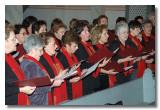 Der Frauenchor beim Adventskonzert 2005