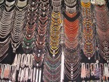 Necklaces on Display